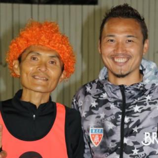 名良橋晃さんとのツーショット写真です。