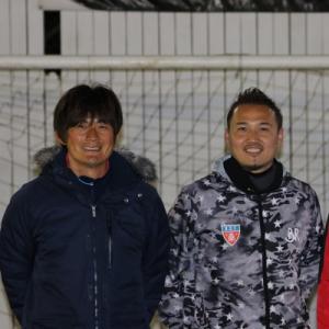 岩本輝雄さんとのツーショット写真です。
