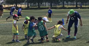 サッカースクールの写真です。