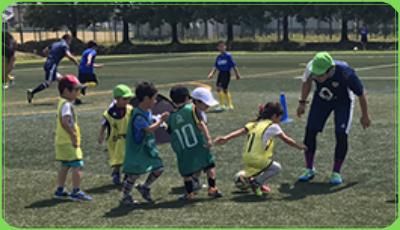 サッカースクールの紹介画像です。